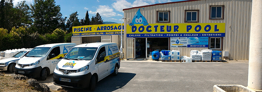 Le magasin Docteur Pool