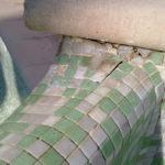 PIscine Assistance Azur assure la réparation des joints mosaïque creusés